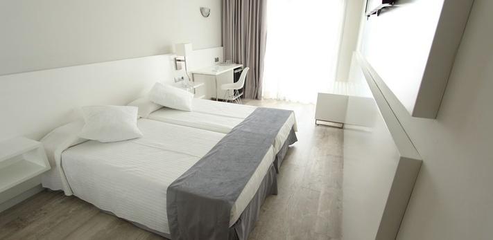 HABITACIÓN INDIVIDUAL Hotel Caserío
